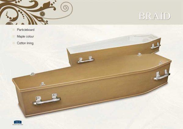 Braid Coffin Casket