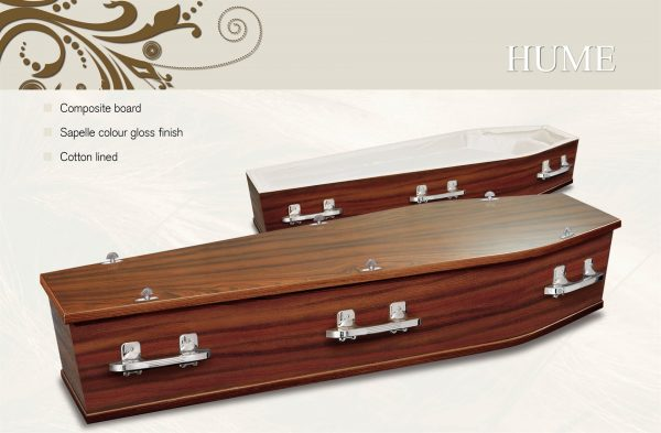Hume Coffin Casket